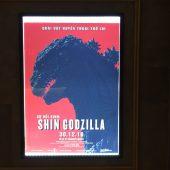 12/30、映画『シン・ゴジラ』ベトナム上陸、ロッテシネマで公開開始