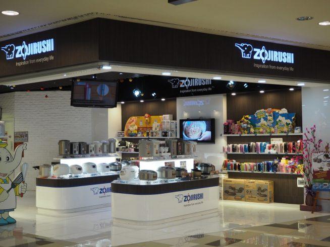 日本の炊飯器や水筒も売っています。