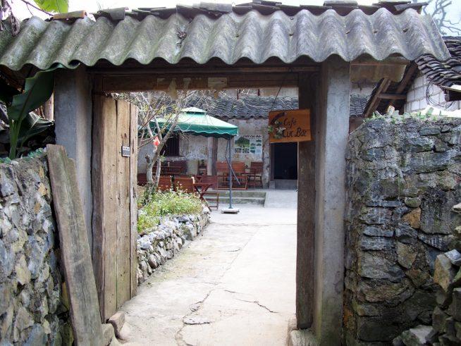 ベトナム最北のカフェ「クックバックカフェ」