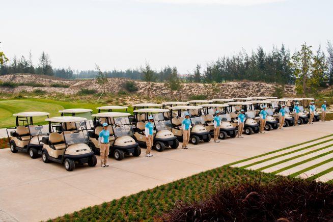 どこのゴルフ場もダナン市内からそこまで遠くはありません。