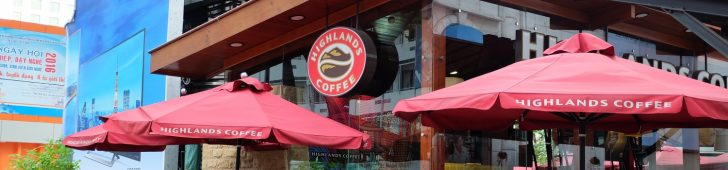 Highlands Coffee – Diamond Plaza