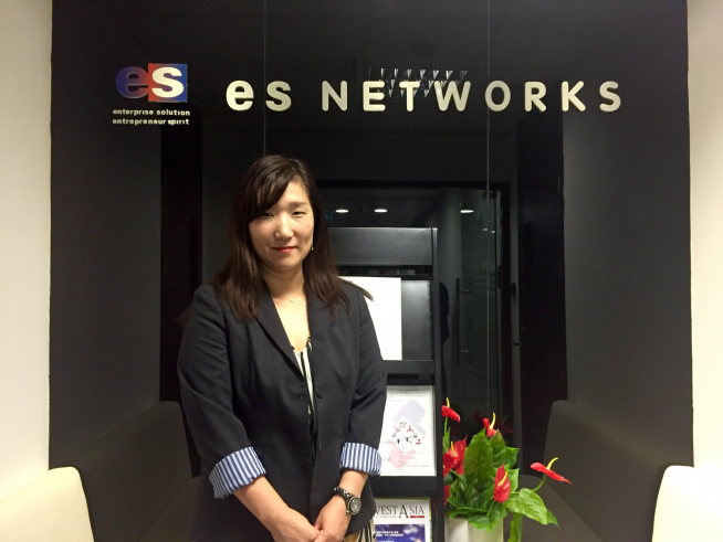 ES NETWORKS VIETNAM 笠松薫里さん
