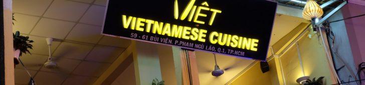 Việt – Vietnamese Cuisine