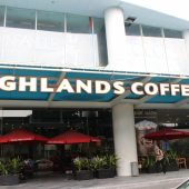 ハイランズコーヒー(Highlands Coffee  - Indochina Plaza)