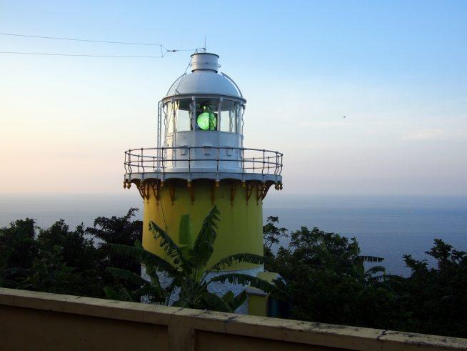 今も現役で使われているソンチャ半島のティエンサ灯台