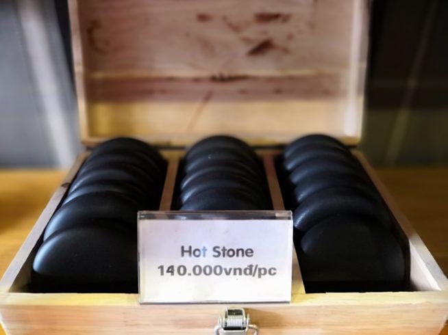 ホットストーンは14万VNDで購入できます。
