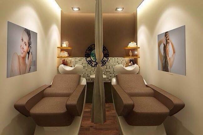 静かでリラックスできる空間で施術が受けられる。