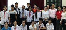 「第2回 ベトナム少年友好訪日団」の任命式を開催~夢多き国際人への成長を願い、ベトナムの子どもたちを日本に招待~