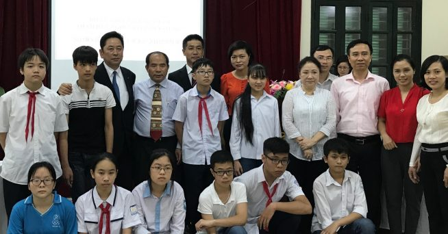 5月9日(火)にベトナム・ハノイ市で行われた任命式
