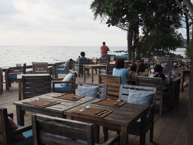 サンセットが眺められるカフェレストラン
