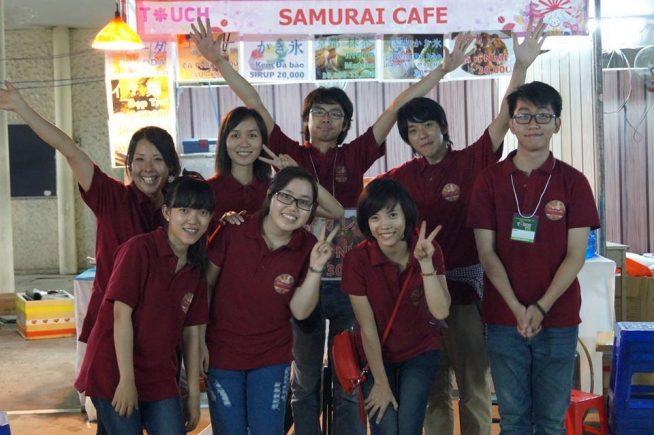 大塩さんがお手伝いをされているSamurai cafe
