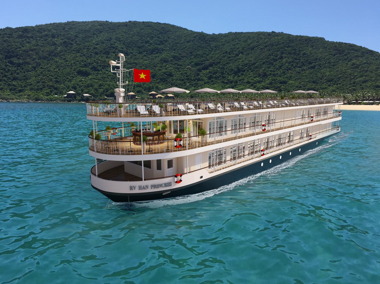 4月下旬よりハン川に新しいディナークルーズ船が就航します。