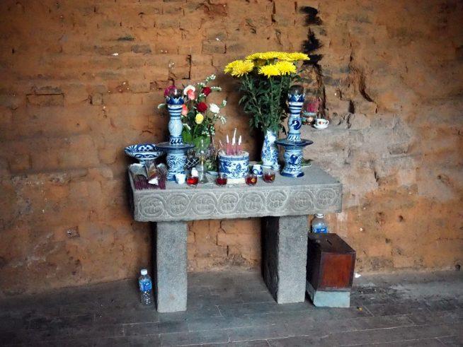 祠堂内の祭壇