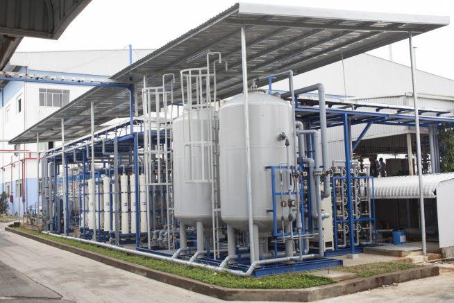 五洲興産 再利用排水処理設備