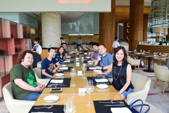 Altplus Vietnam 幹部との食事会
