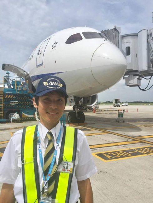 ANA ハノイ空港所 吉田典路さん