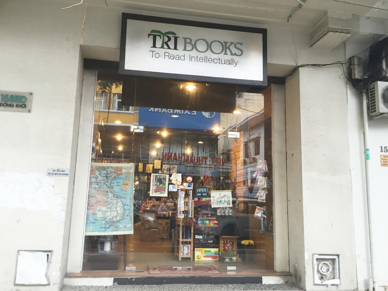 Vincom Center近くに位置する可愛らしい本屋さん。文房具だけではなく、お土産にぴったりなベトナム雑貨も多く揃っています。