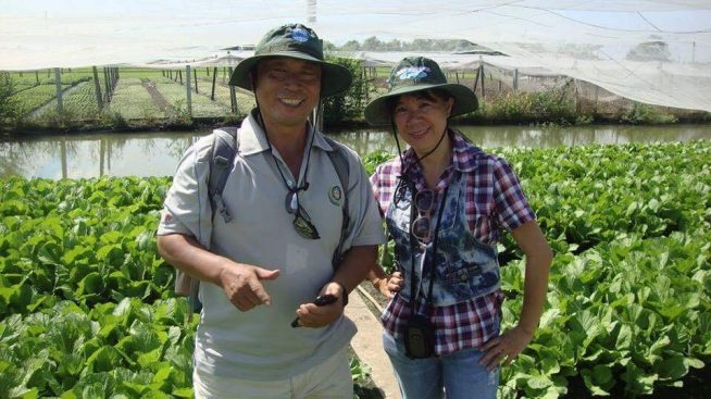 有機農業の視察