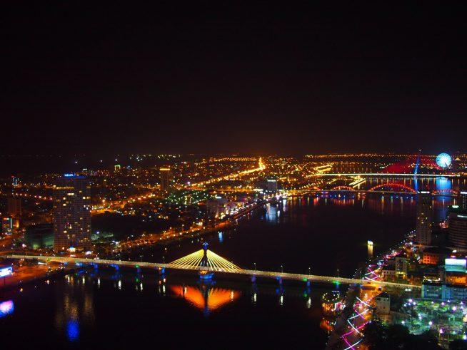 36階から見える夜景は必見です