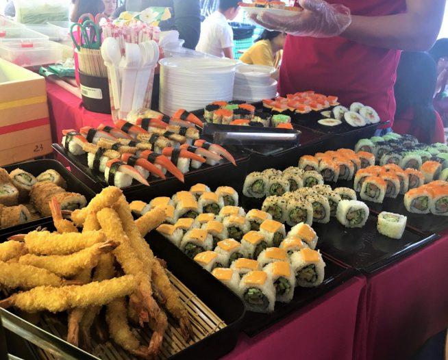 お寿司と天ぷらお店