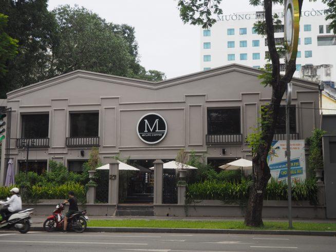 大きな「M」の看板が目印