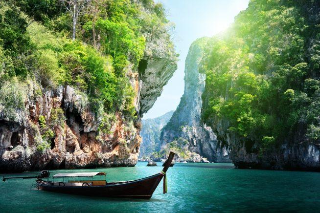 タイの美しい景観(提供:ベトジェットエア)
