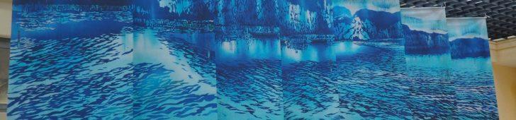 芸術の秋を味わえる!染色画家の鳥羽美花さんの作品展開催中!