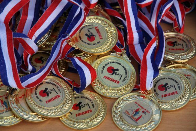 フィニッシャーズメダル