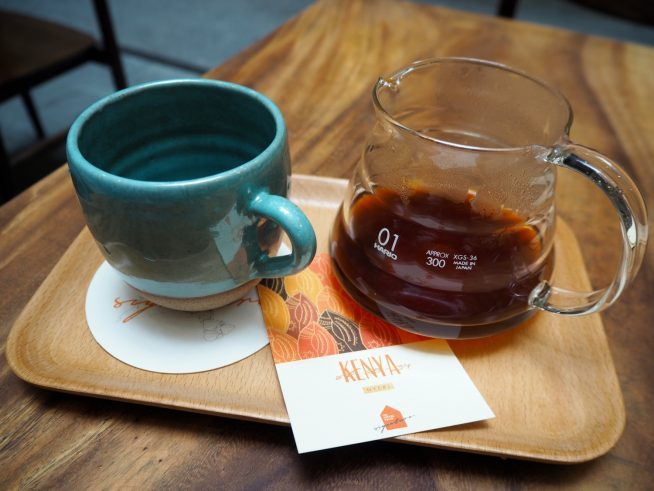 香りがよく酸味の強いケニアティカコーヒー