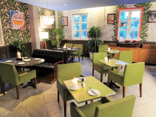 ダナンの中心にあるフランス家庭料理のお店