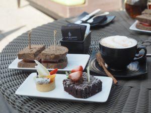 ガトーショコラとコーヒーがよく合う