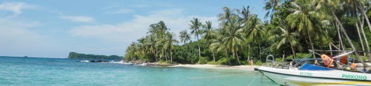 フーコック島周辺の離島には魅力がいっぱい!エメラルドグリーンの海で南国気分を満喫できる離島ツアーがおすすめ。