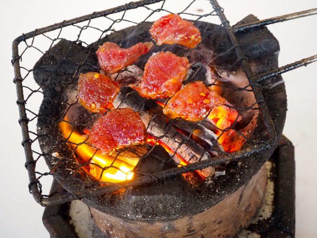 ベトナム風炭火焼肉