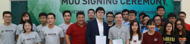 日系PIXTAとハノイ工科大学が機械学習に関する共同研究で合意 PIXTAのデータを活かした高精度画像AIの構築を目指すベトナムにおける高度IT人材の育成・雇用創出にも貢献