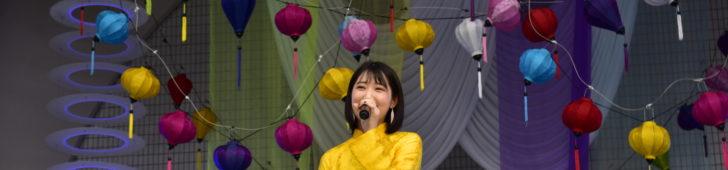 「アジアの天使」上野優華 今年も観光親善大使としてホイアン日本祭り参加決定