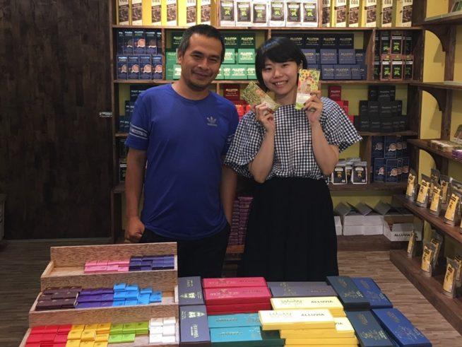オーナーさんはとても親切で、チョコレートの魅力について熱く語ってくださいました。