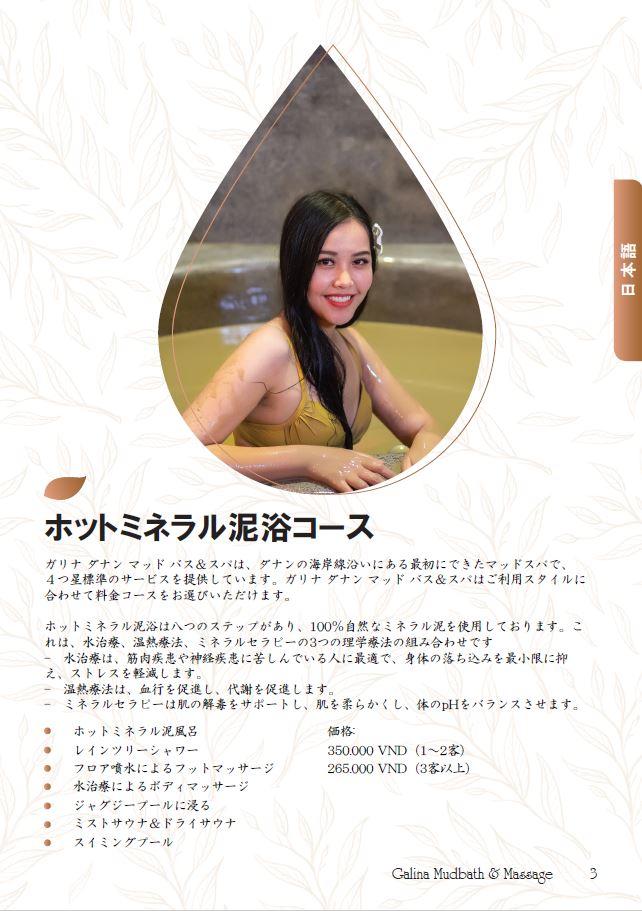 メニューは日本語表記もあります。
