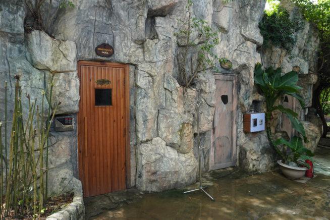 サウナとスチームサウナの二種類の部屋がありました。