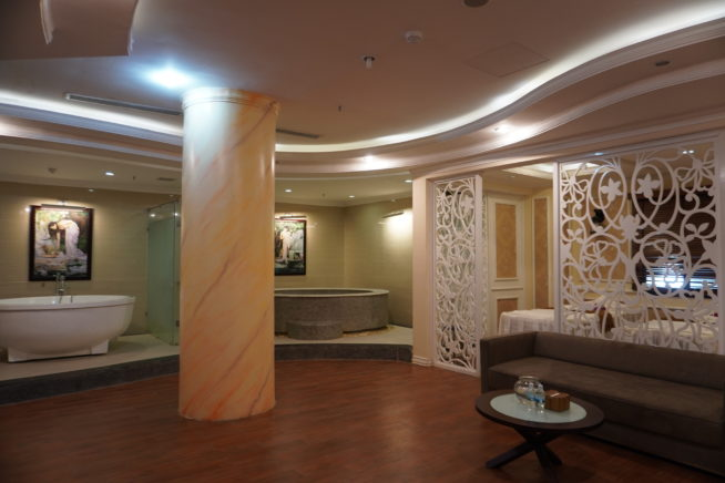 VIPルームには全ての設備が完備。