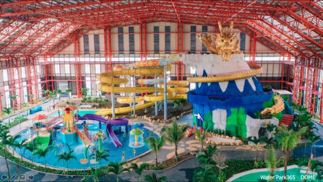 全天候型スパ施設 「Mikazuki Waterpark365」